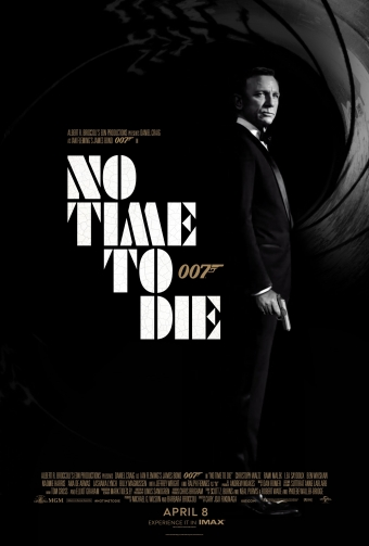 James Bond. No Time to Die